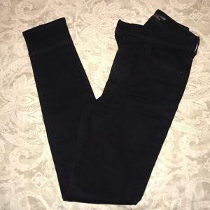 The Castings black denim high waisted skinny jeans